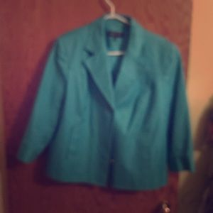 Teal - size 16 - Jones New York Blazer